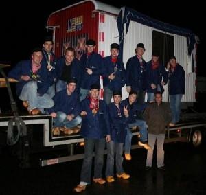 Stunt met de keet van In Holland staat een huis